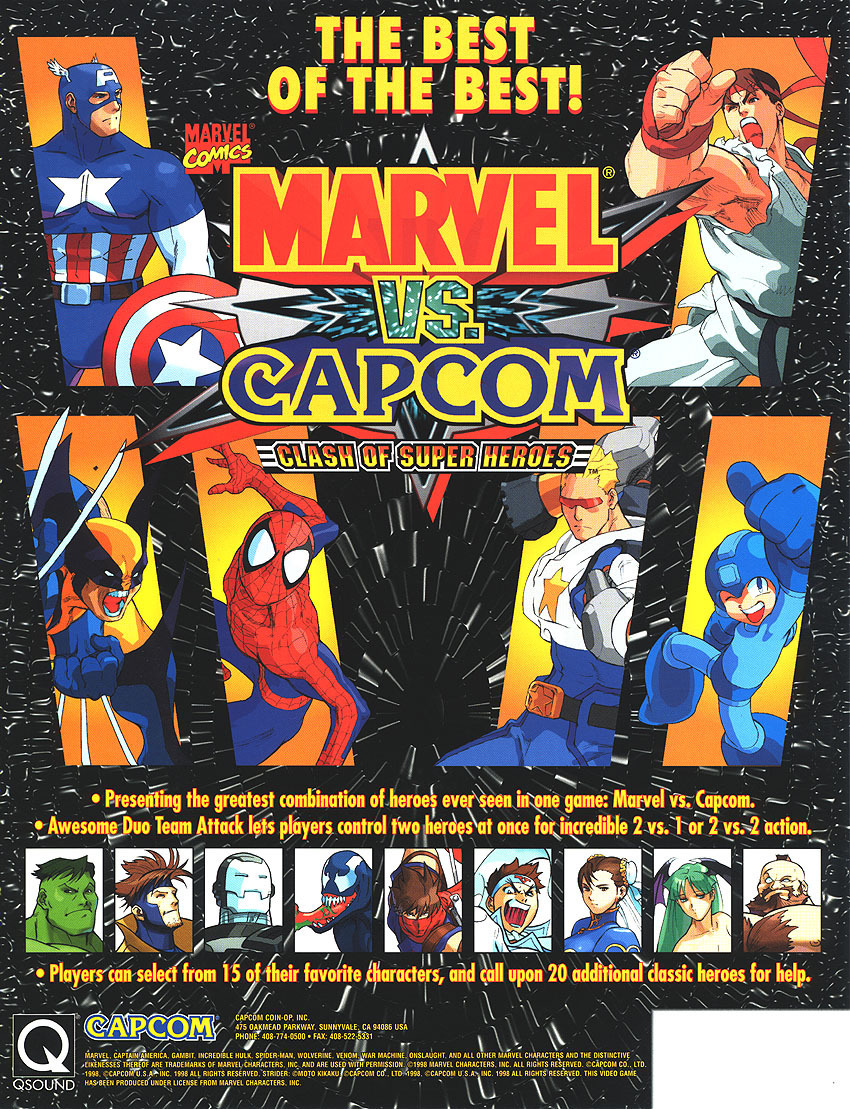 Marvel Vs Capcom 2 Wallpapers Posted By Christopher Cunningham
