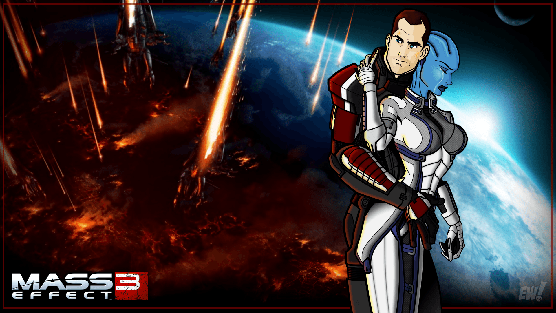 Mass Effect 3 Wallpaper 4k Posted By Michelle Simpson