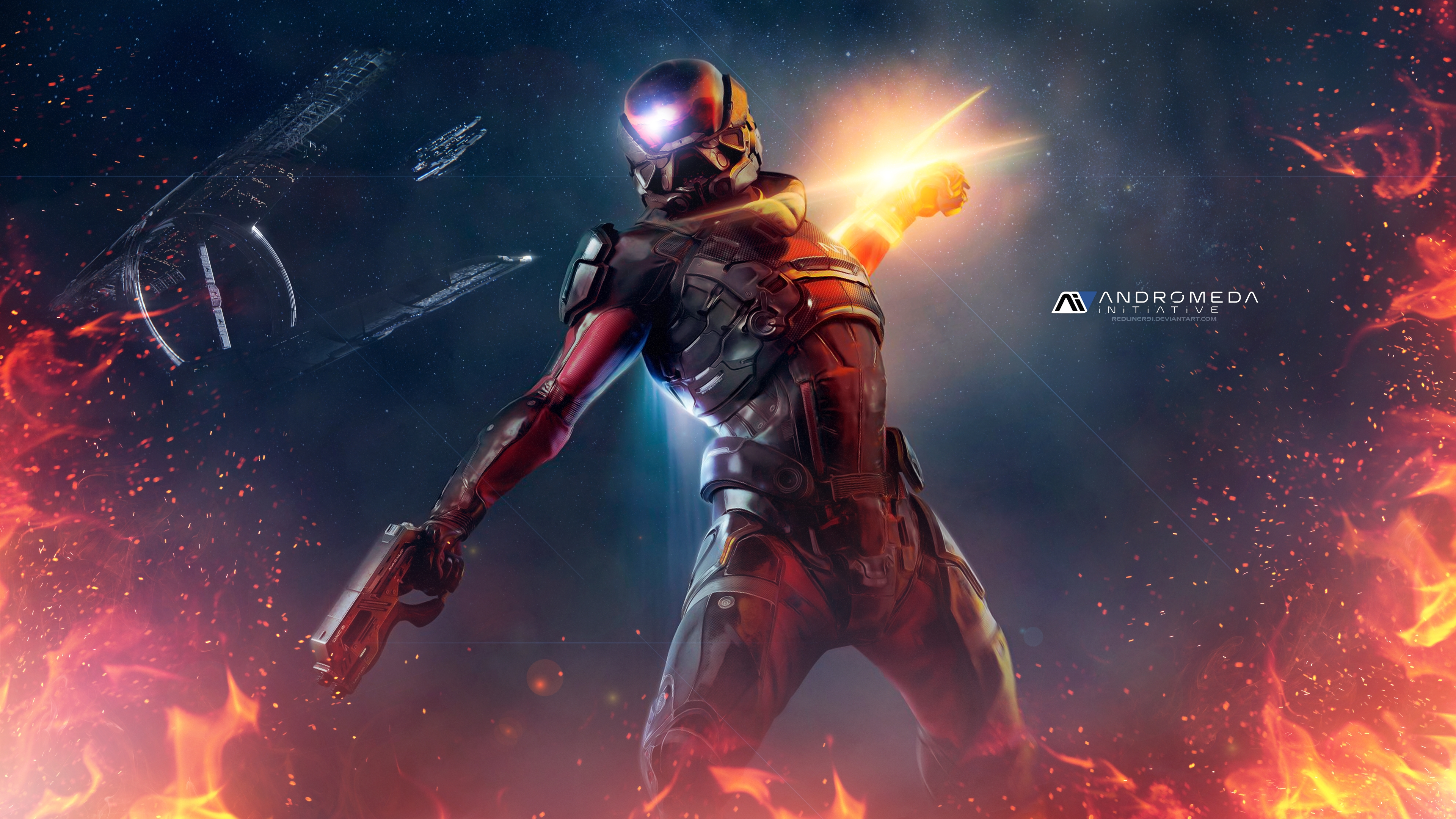 Mass Effect Backgrounds Posted By Christopher Anderson