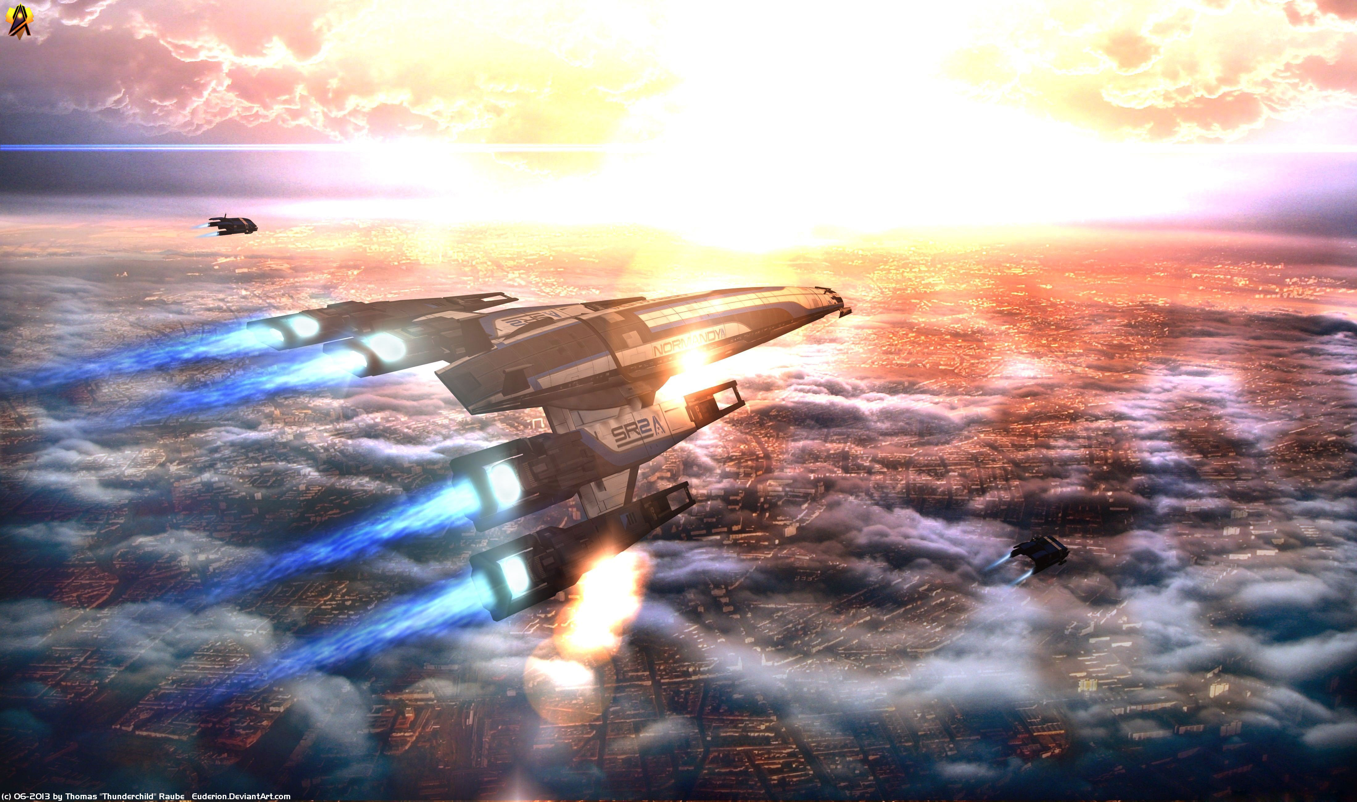 Mass Effect Desktop Backgrounds Posted By John Anderson