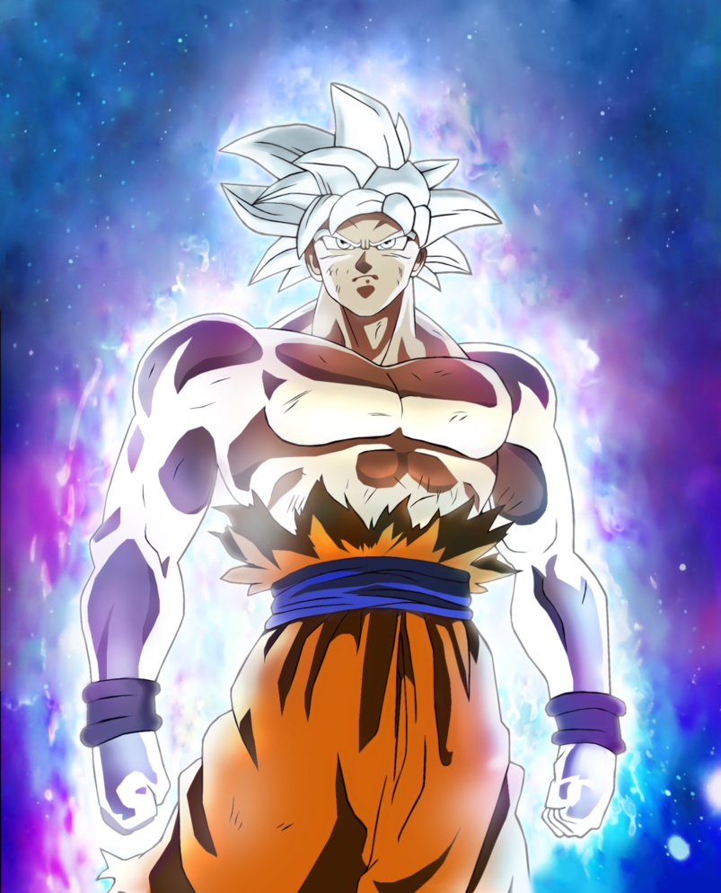 Mastered Ultra Instinct Goku Fan Art Posted By Sarah Simpson