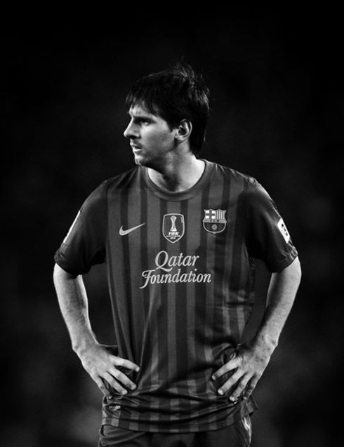 Messi Black And White Posted By Sarah Tremblay