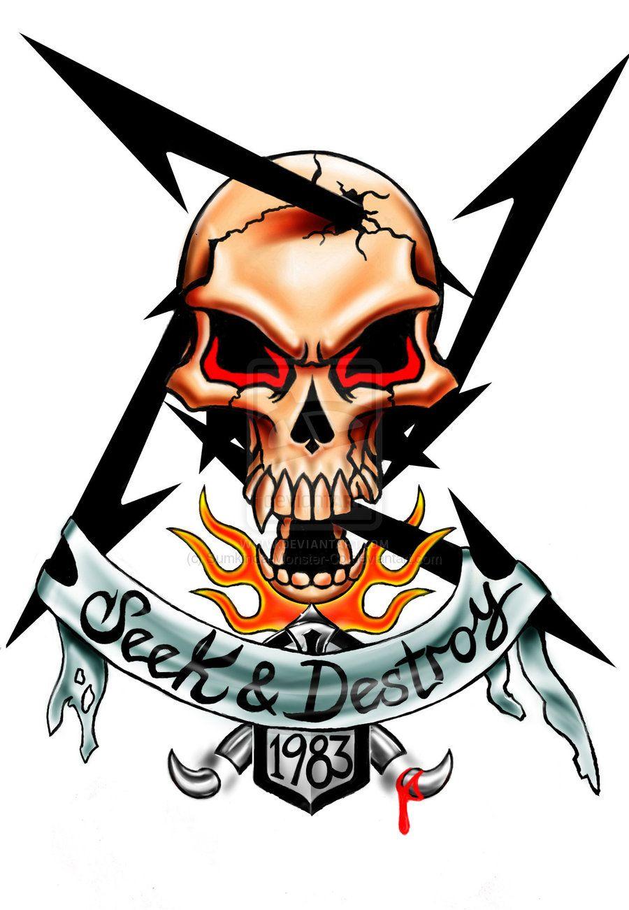 Metallica Calavera Wallpaper posted by Samantha Anderson