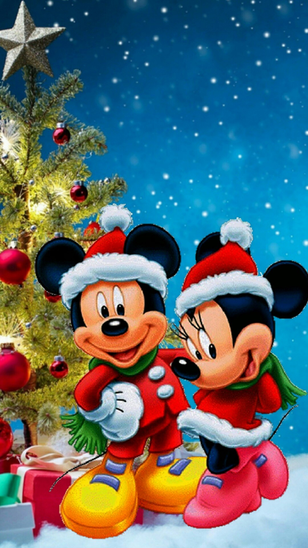 Mickey Mouse Christmas Wallpaper the best 64 images in 2018