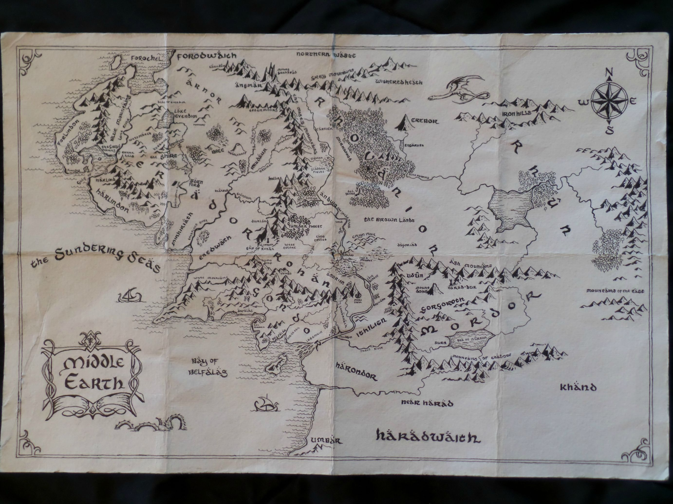 Middle Earth Map High Resolution Posted By Samantha Mercado