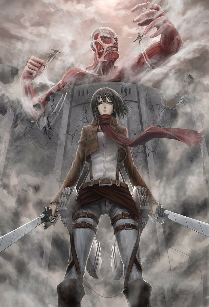 Mikasa Attack On Titan Wallpaper Posted By Christopher Thompson