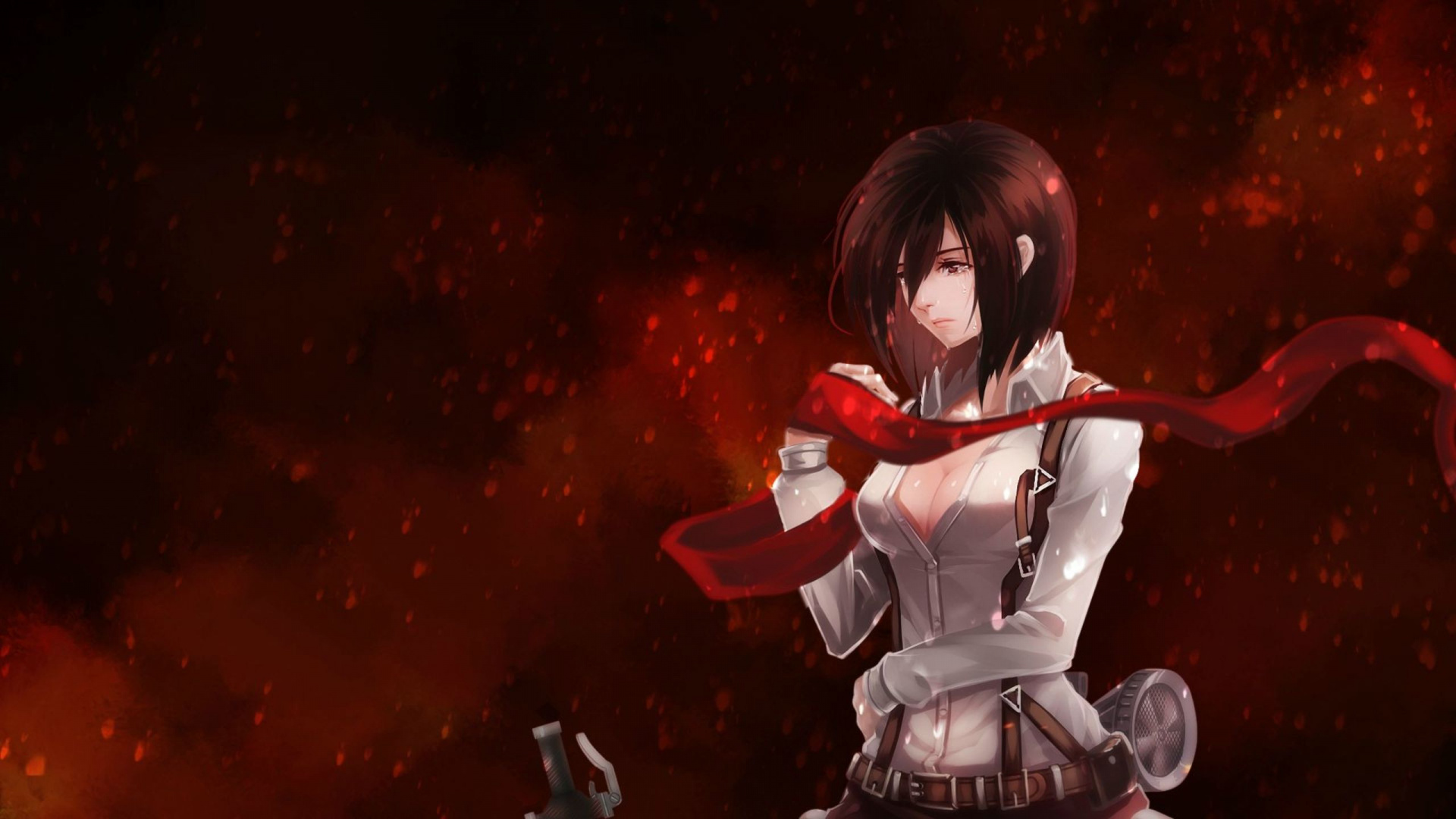 Mikasa Wallpaper Hd Posted By Zoey Mercado
