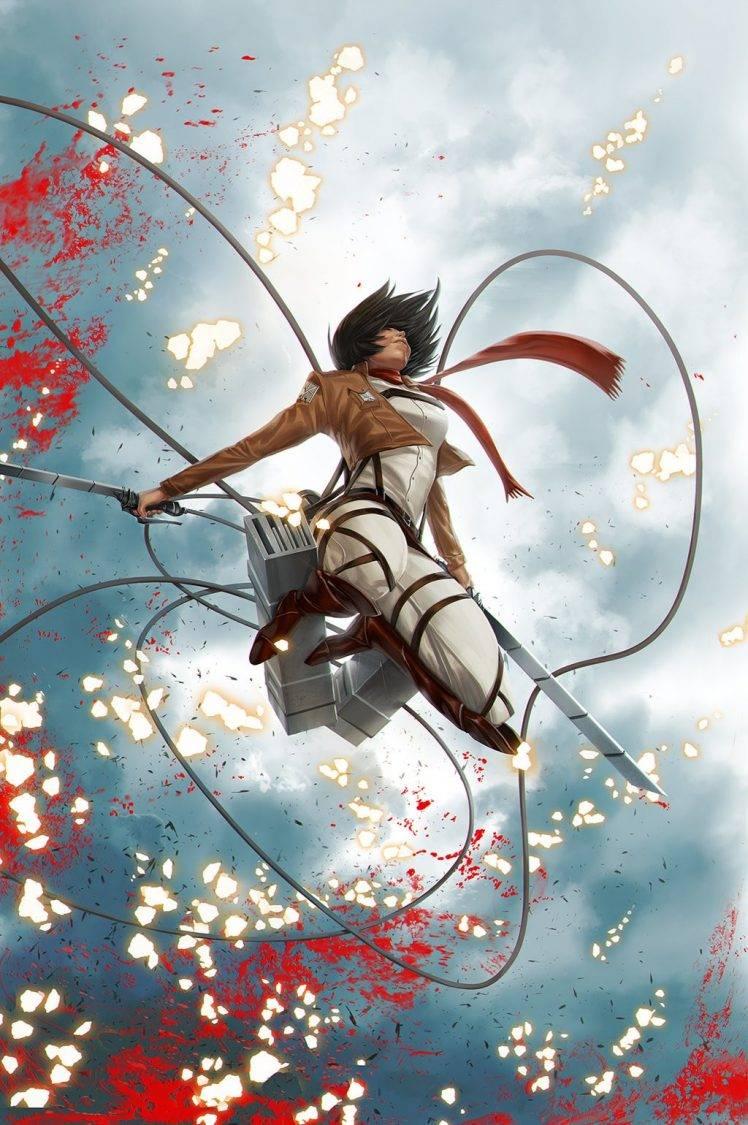 Mikasa Wallpaper Hd Posted By Zoey Mercado