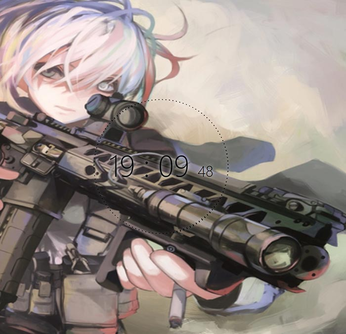 Military Anime Wallpaper Posted By Ryan Mercado
