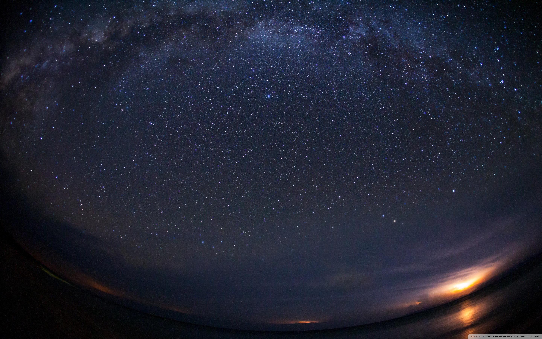 Milky Way From Earth Ultra HD Desktop Background Wallpaper