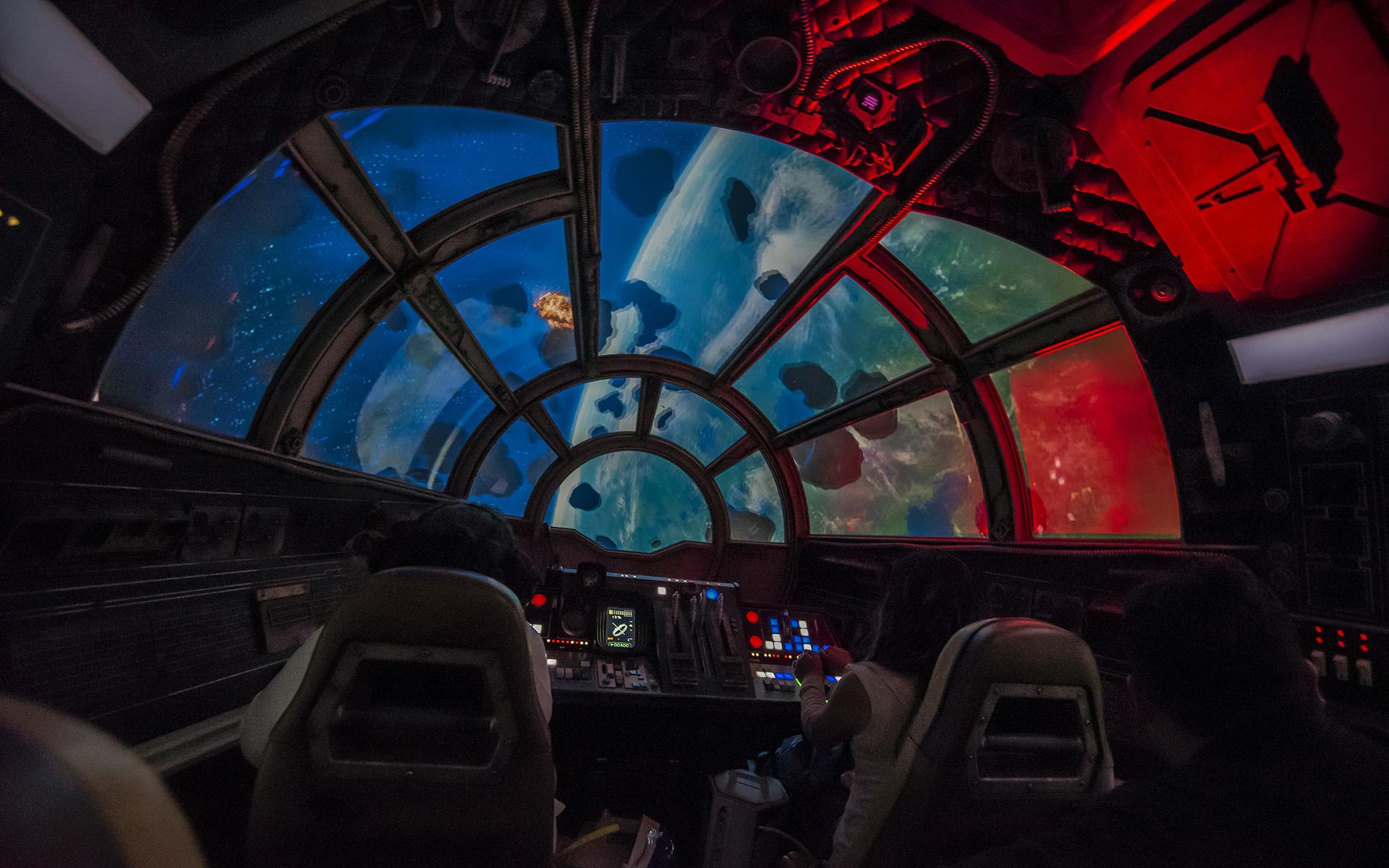 Millennium Falcon Cockpit Wallpaper Posted By John Johnson