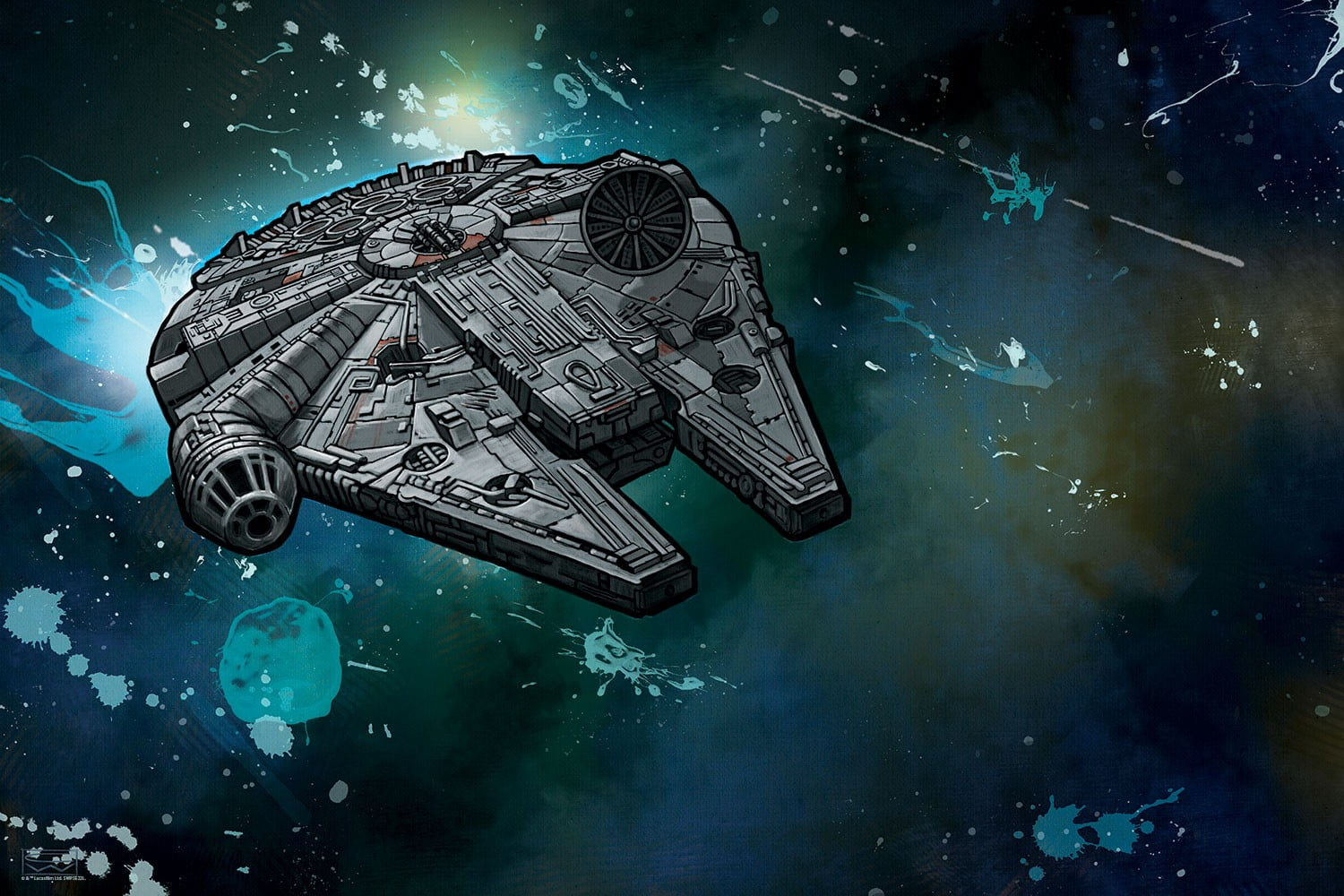 Millennium Falcon Wallpaper Posted By Ryan Sellers