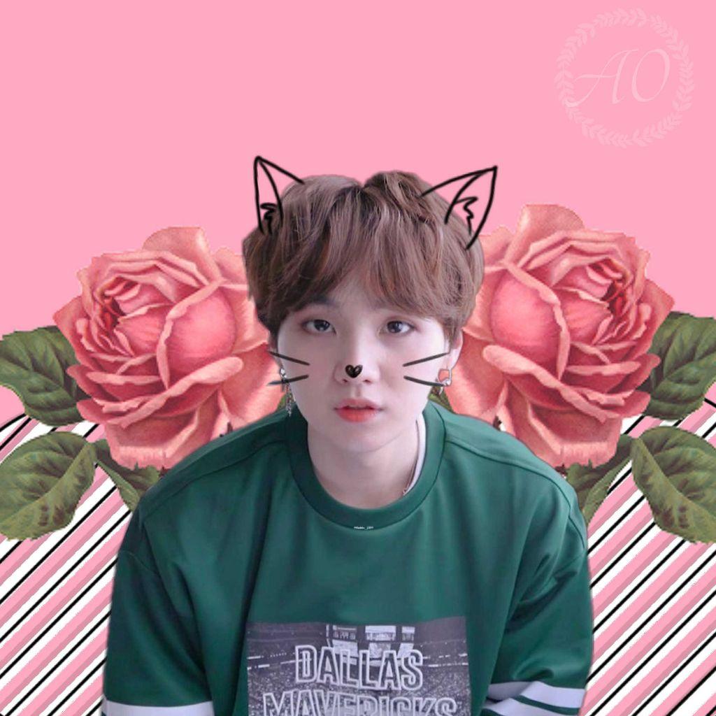 kpop kpopedit bts minyoongi suga wallpaper aesthetic