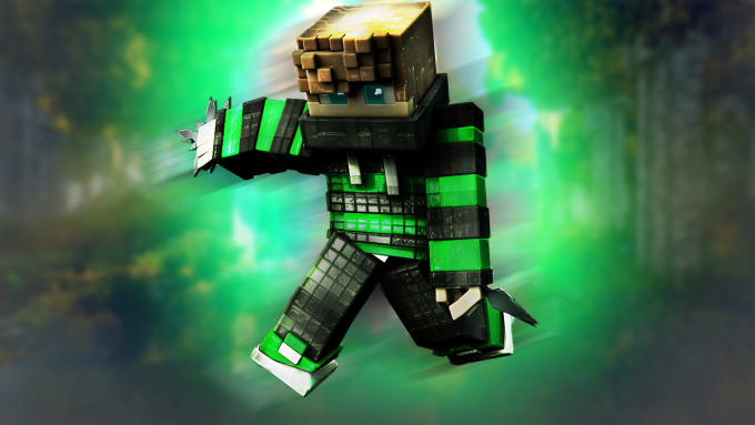 Minecraft 3d Wallpaper Posted By Zoey Sellers