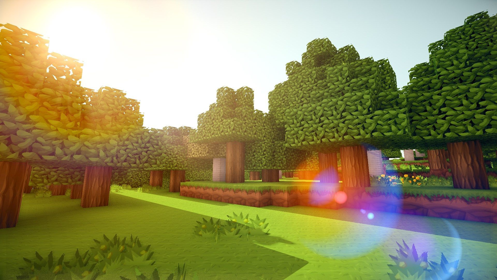 Minecraft 4k Wallpaper posted by Christopher Sellers