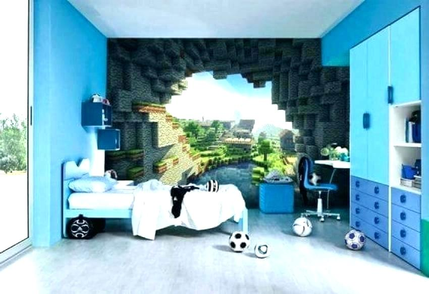 Minecraft Bedroom Wallpaper Posted By Christopher Walker