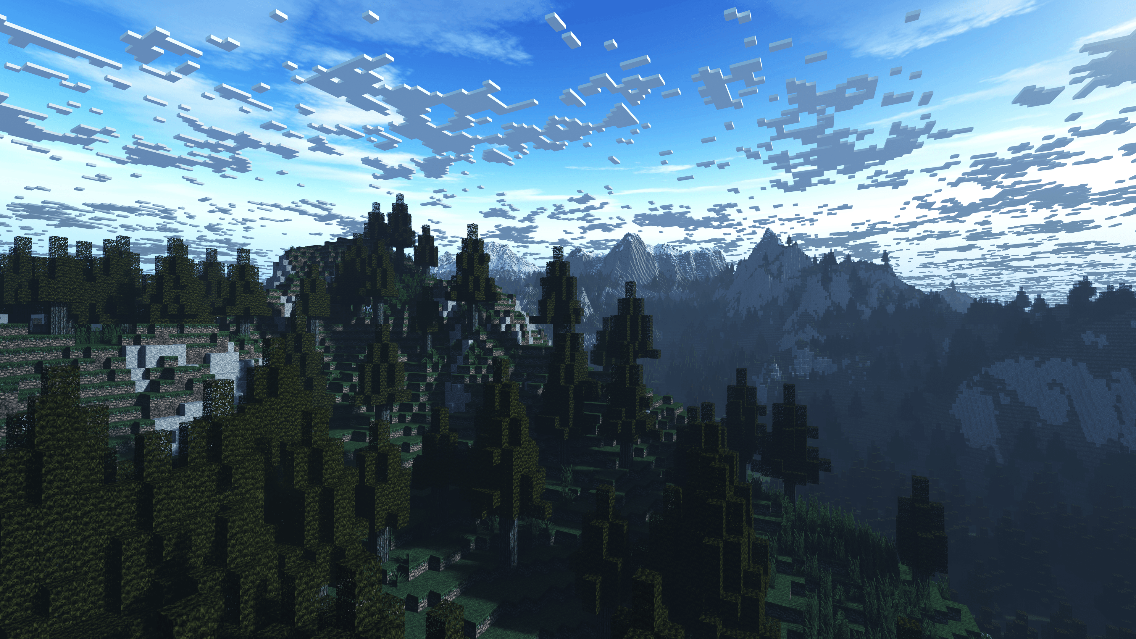 Minecraft Landscape Wallpaper Posted By Sarah Thompson