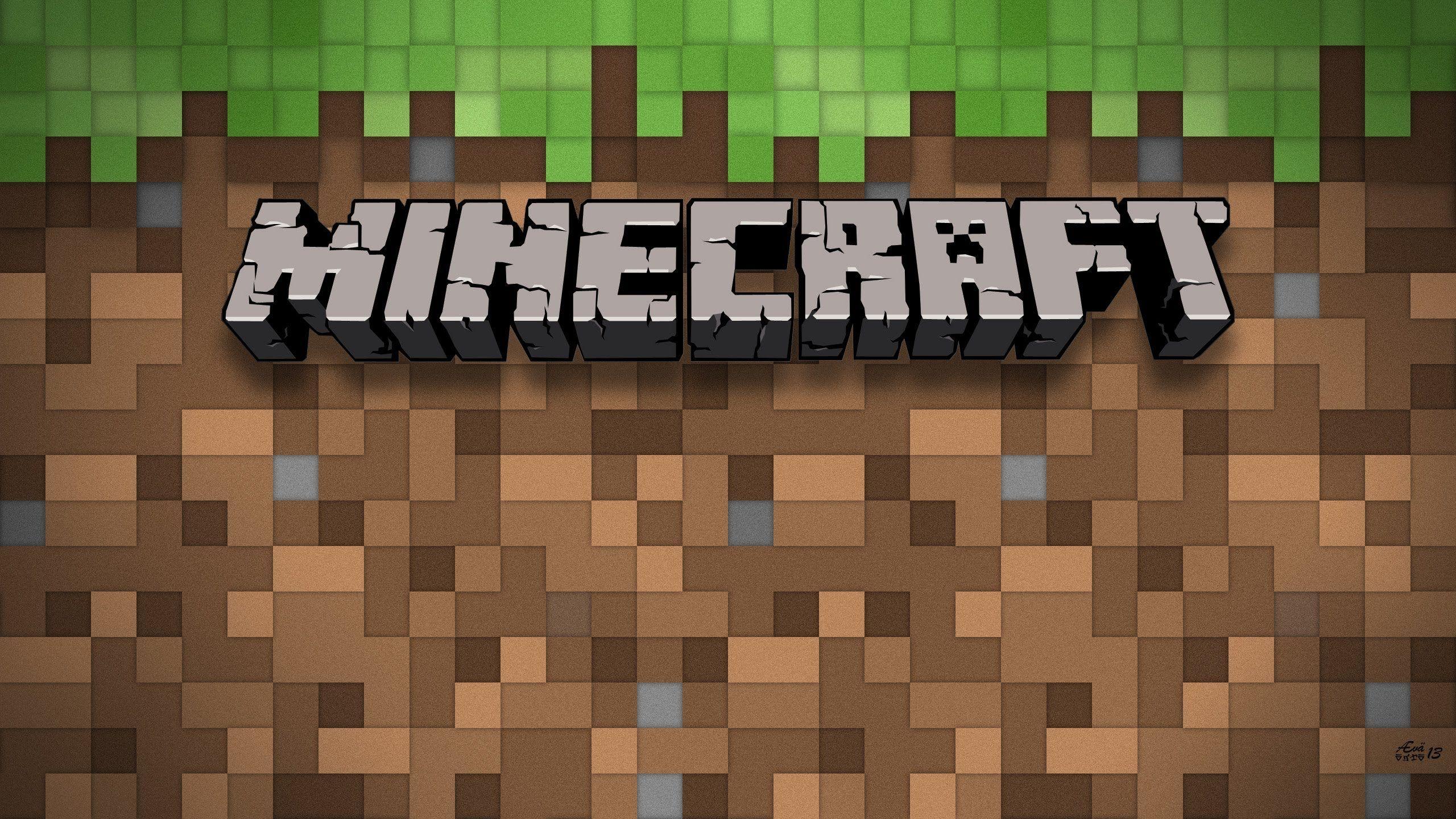 Minecraft Logo Wallpaper Posted By Ryan Peltier