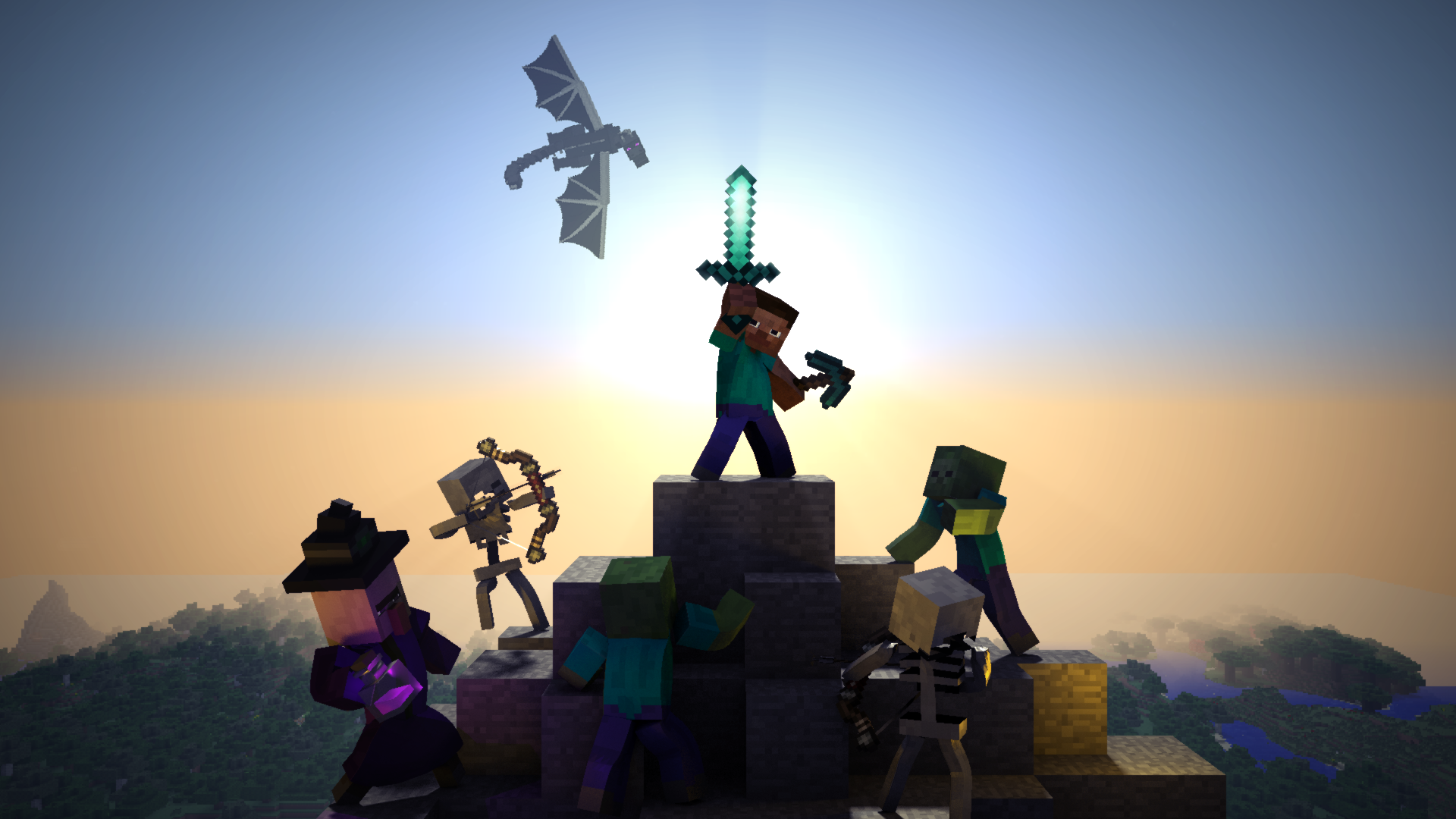 Minecraft Steve Wallpapers Posted By Zoey Walker