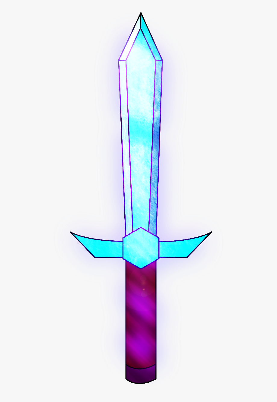 Clip Art Pictures Of Minecraft Swords - Minecraft Iron Sword Png , Free  Transparent Clipart - ClipartKey