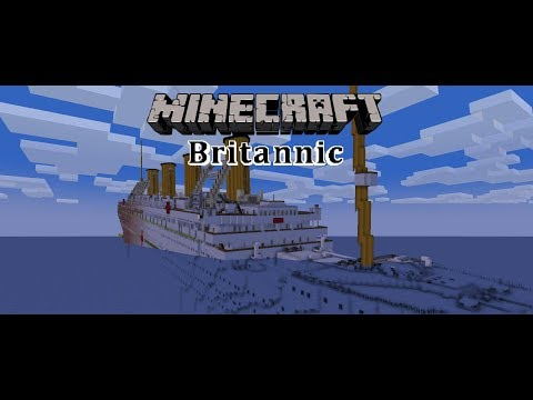 Minecraft Titanic Wreck Posted By Ryan Anderson