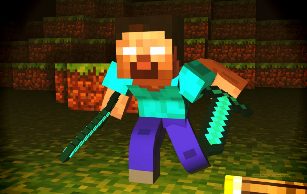 Minecraft Wallpaper Herobrine Posted By Ethan Sellers