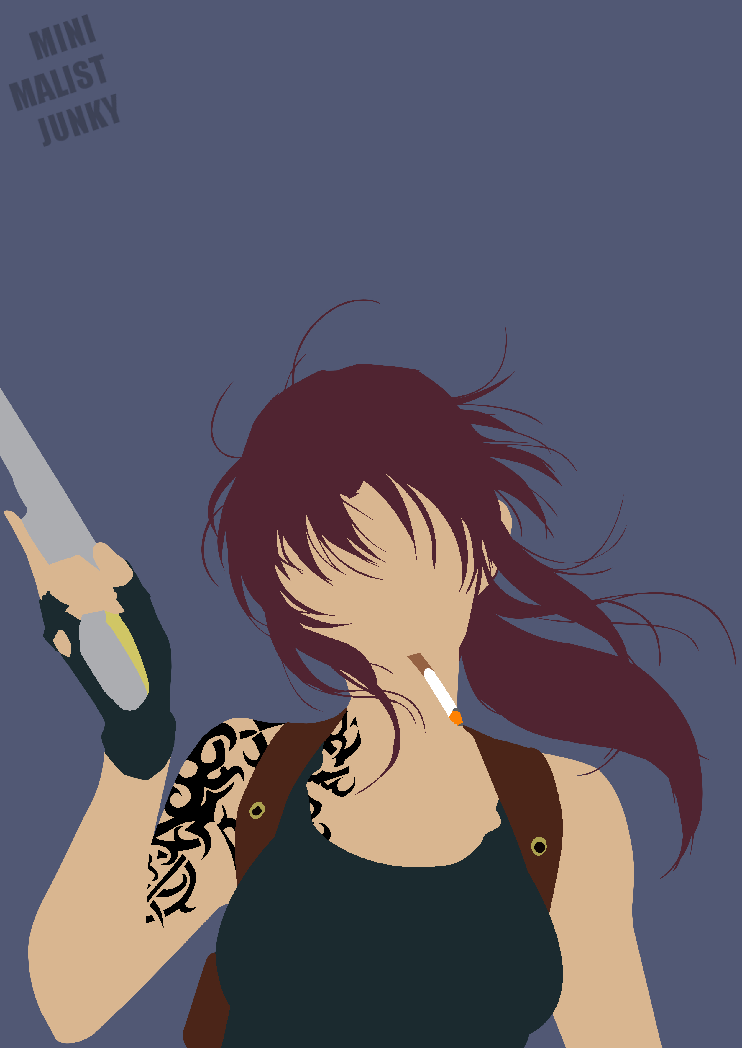 Minimalist Anime Phone Wallpaper Posted By Samantha Peltier
