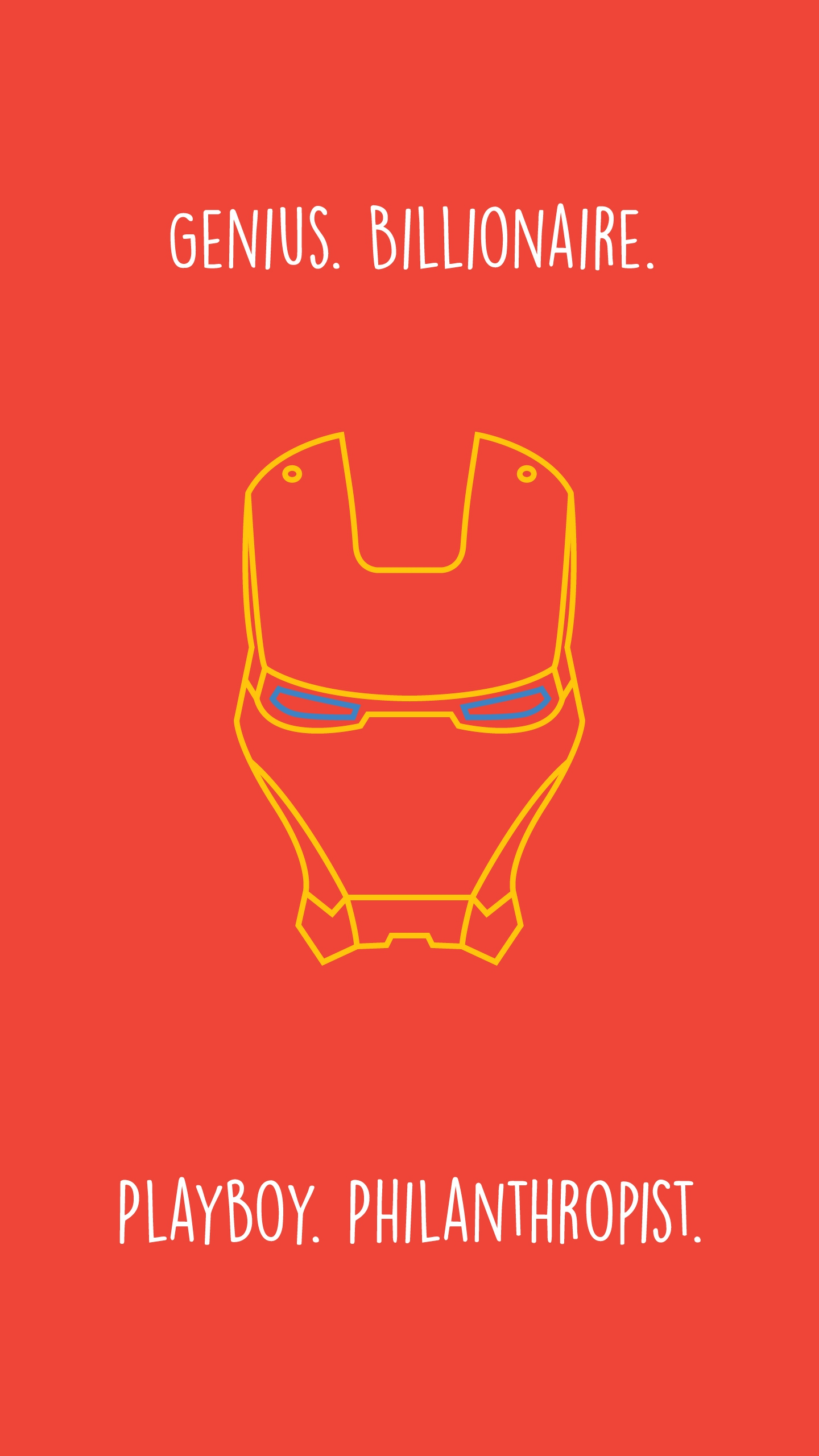 Minimalist Iron Man Wallpaper Posted By Sarah Peltier