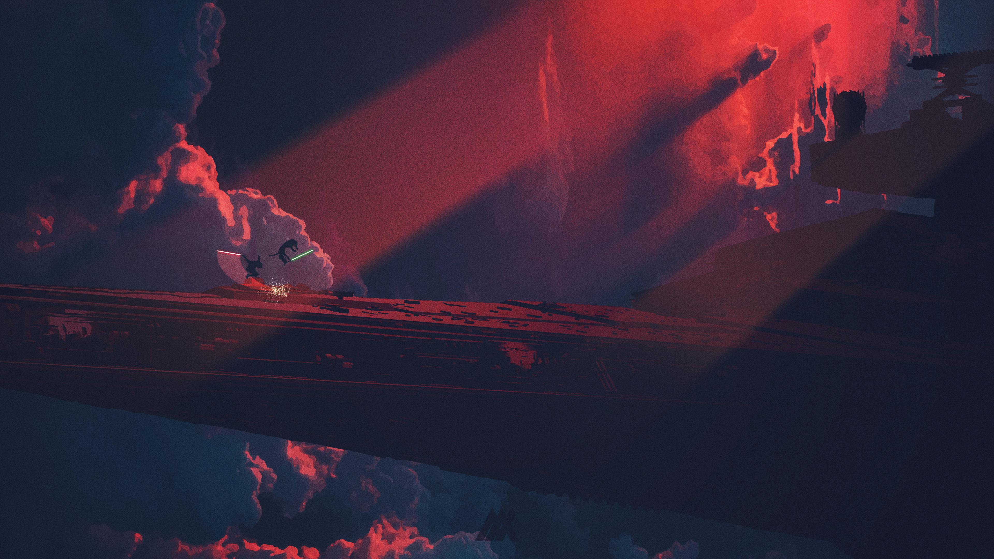 Wallpaper 4k Star Wars Star Destroyer Digital Art 4k 4k