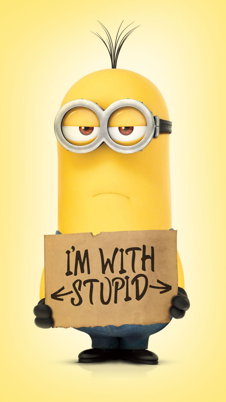 Minion Wallpaper For Iphone 6 Posted By Zoey Sellers