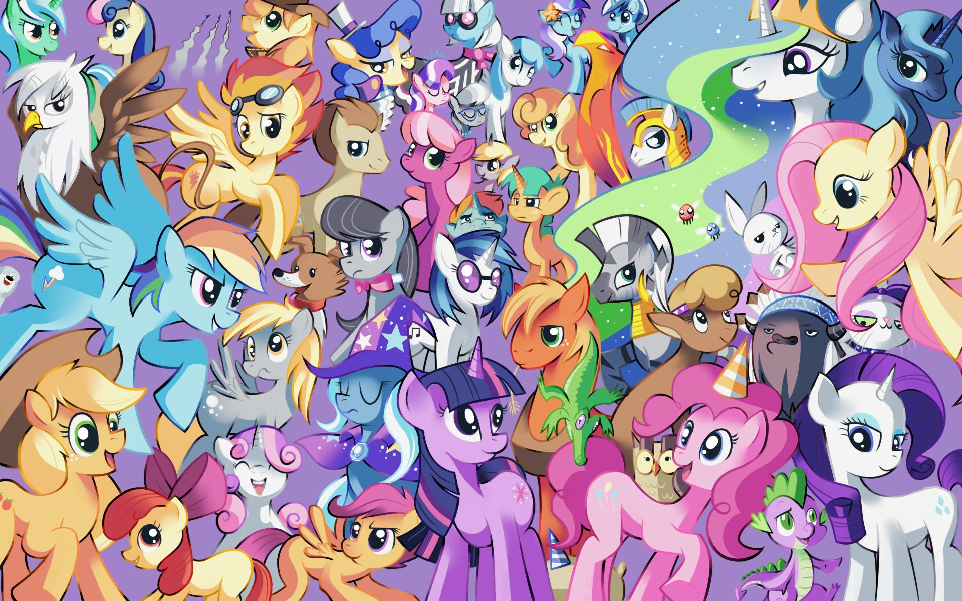Mlp Wallpaper Hd Posted By Sarah Sellers