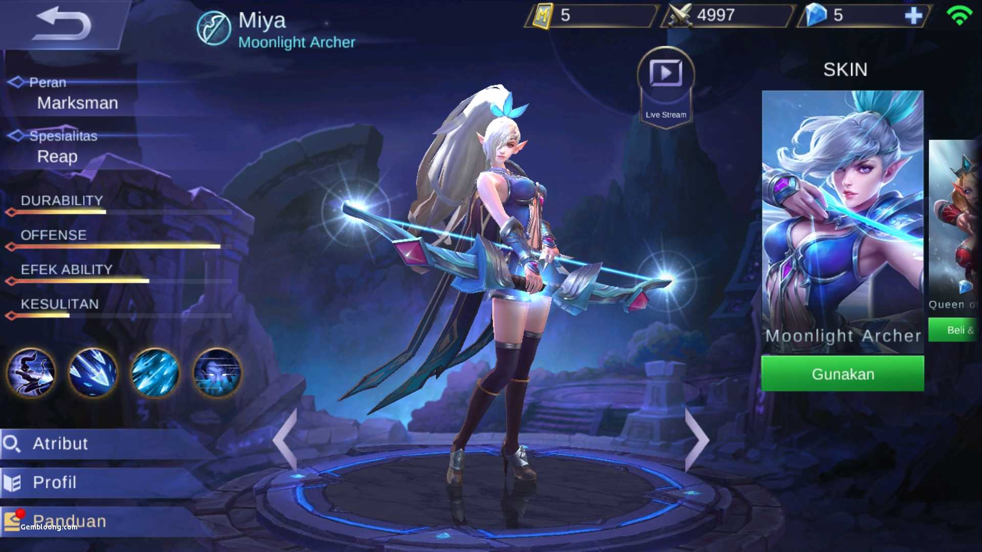 Mobile Legends Miya Wallpapers Posted By Michelle Tremblay