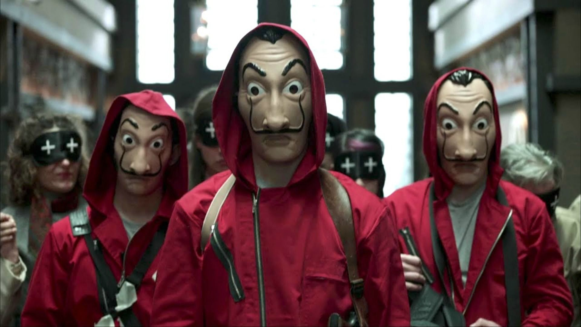 Money Heist Mask Wallpapers Posted By Michelle Anderson