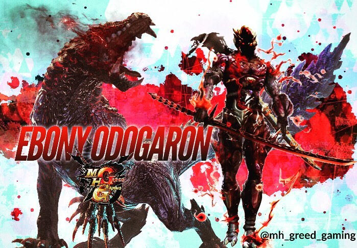 Monster Hunter World Iceborne Ebony Odogaron Wallpapers Posted By