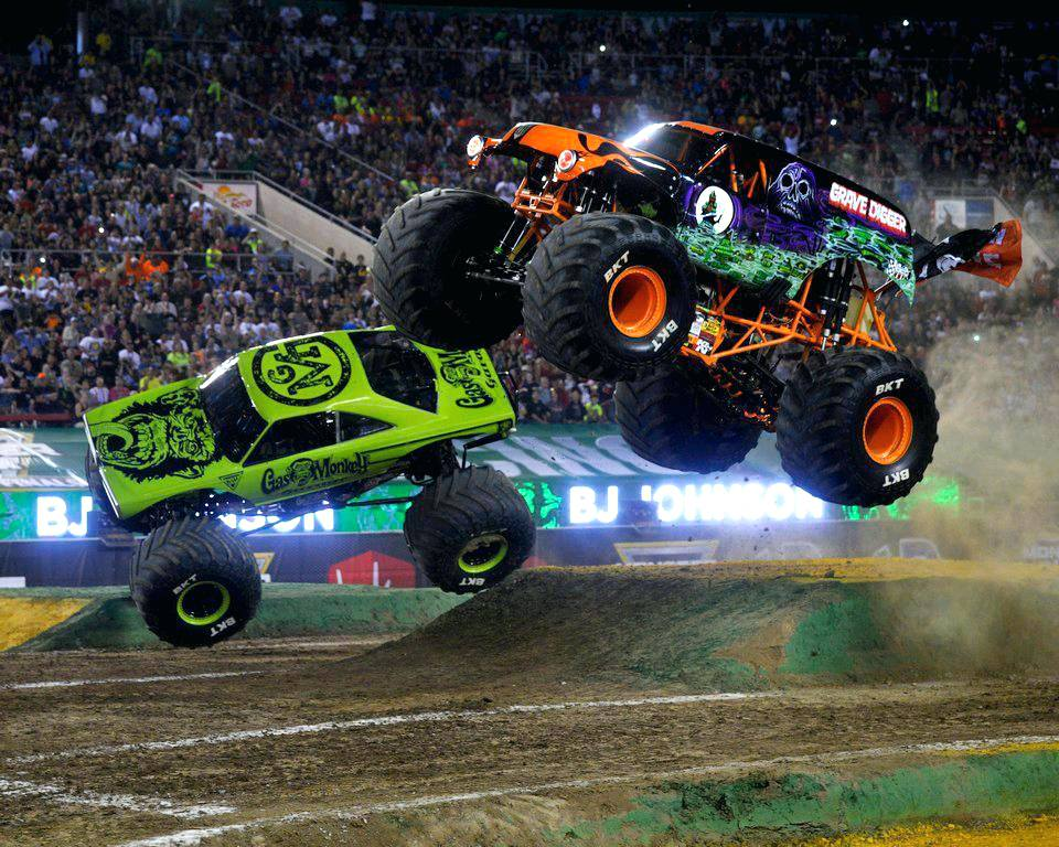 Monster Truck Backgrounds Posted By John Cunningham