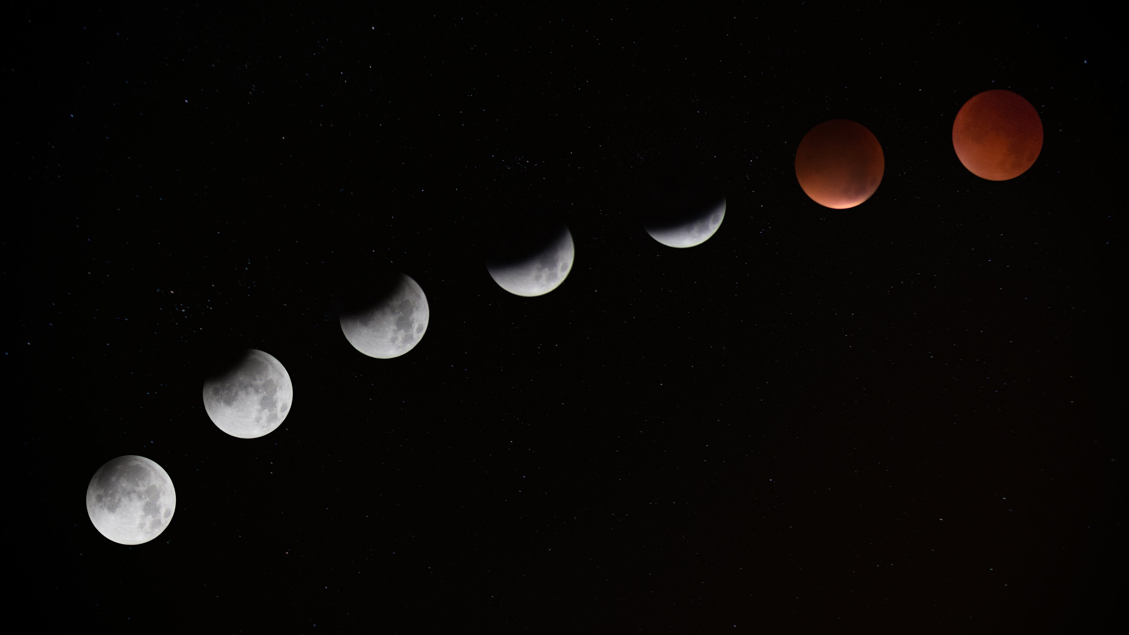 Moon 4k Wallpaper Posted By John Johnson