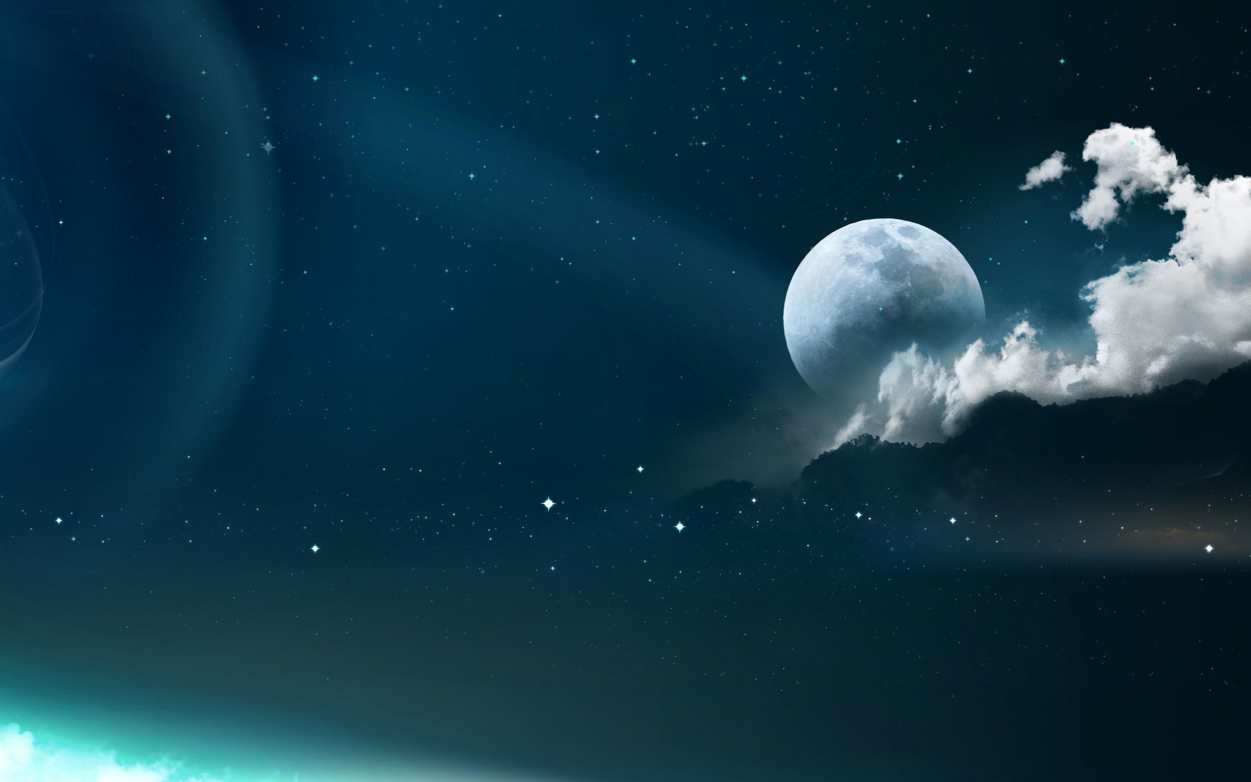 Moon Laptop Wallpaper Posted By Christopher Simpson