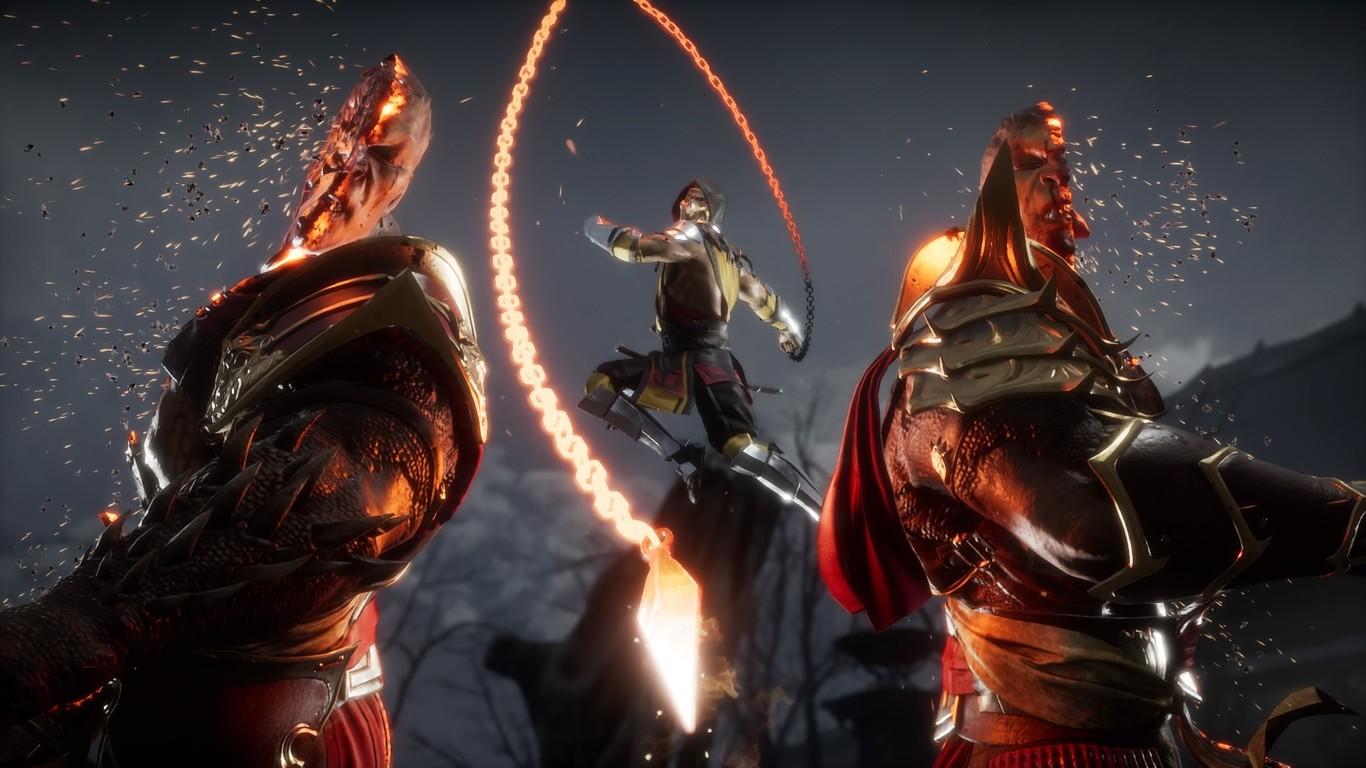 Mortal Kombat 11 Scorpion Wallpaper Posted By Sarah Simpson