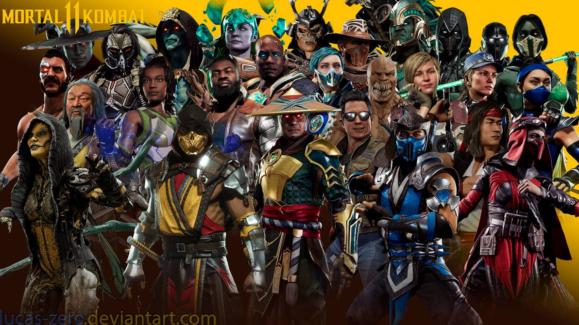 Mortal Kombat Characters Wallpapers Posted By Christopher Mercado