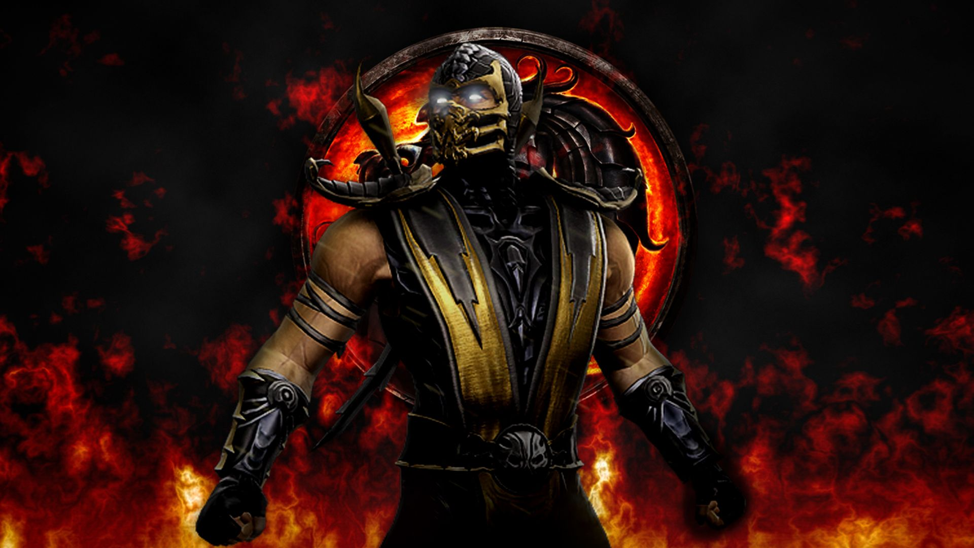 Mortal Kombat Scorpion Wallpaper Posted By Christopher Thompson