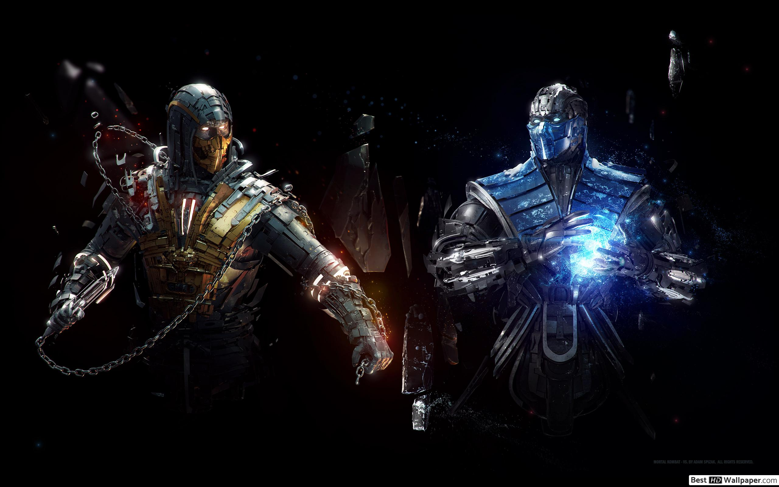 Mortal Kombat X Scorpion Wallpapers Posted By Christopher Peltier