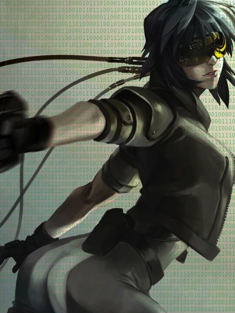 Motoko Kusanagi Phone Wallpaper Posted By Michelle Simpson