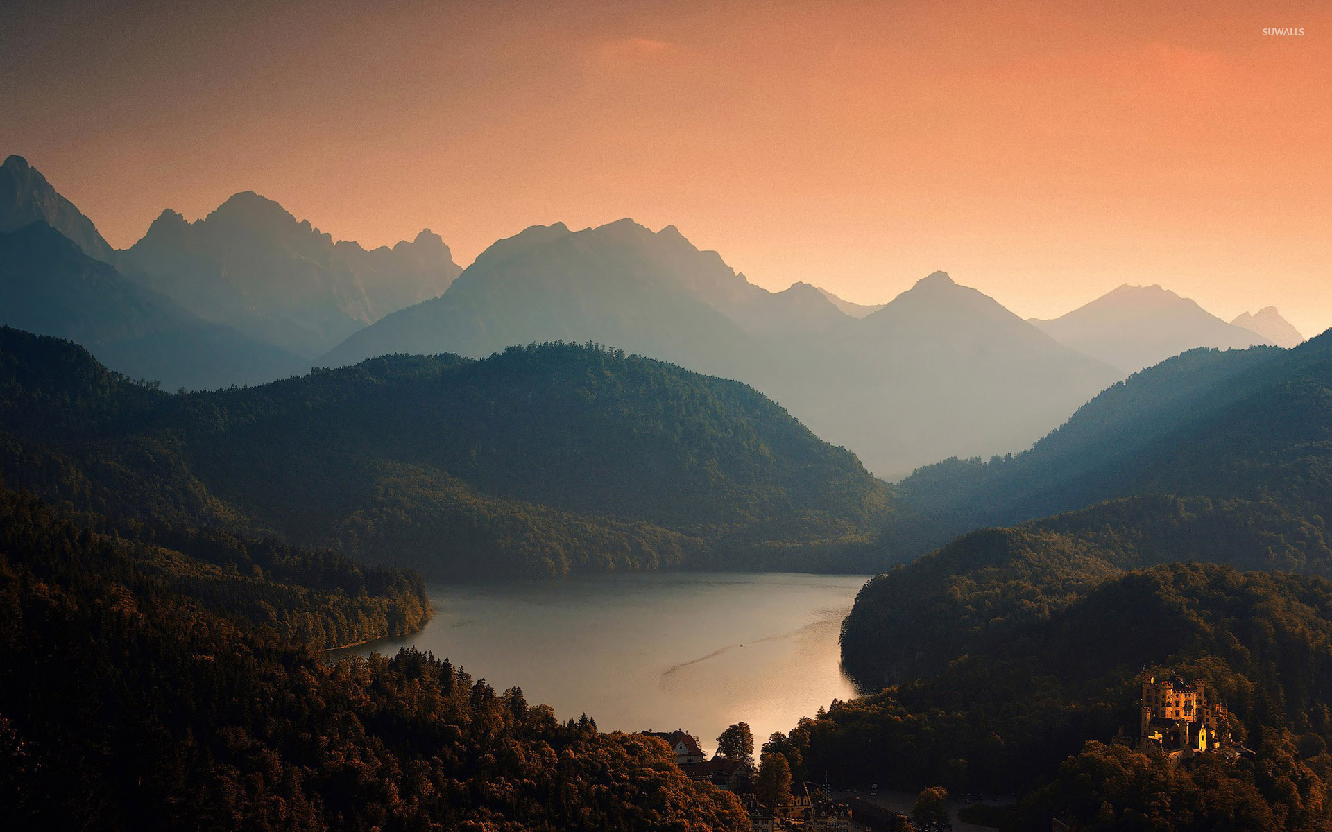 Mountain Sunset Wallpapers Posted By Christopher Johnson
