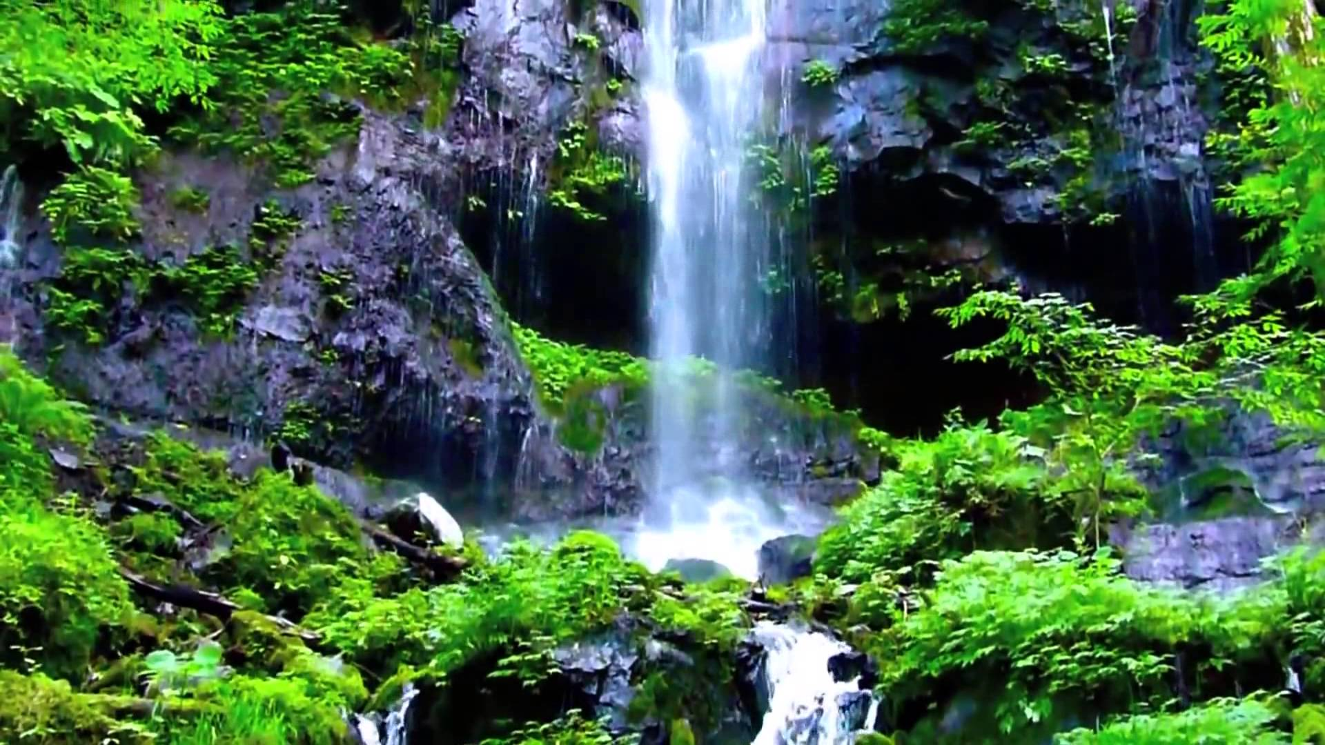 Mountain Waterfall Wallpapers Posted By Zoey Thompson