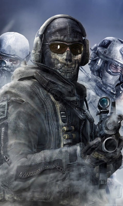 Mw2 Ghost Wallpapers Posted By John Thompson