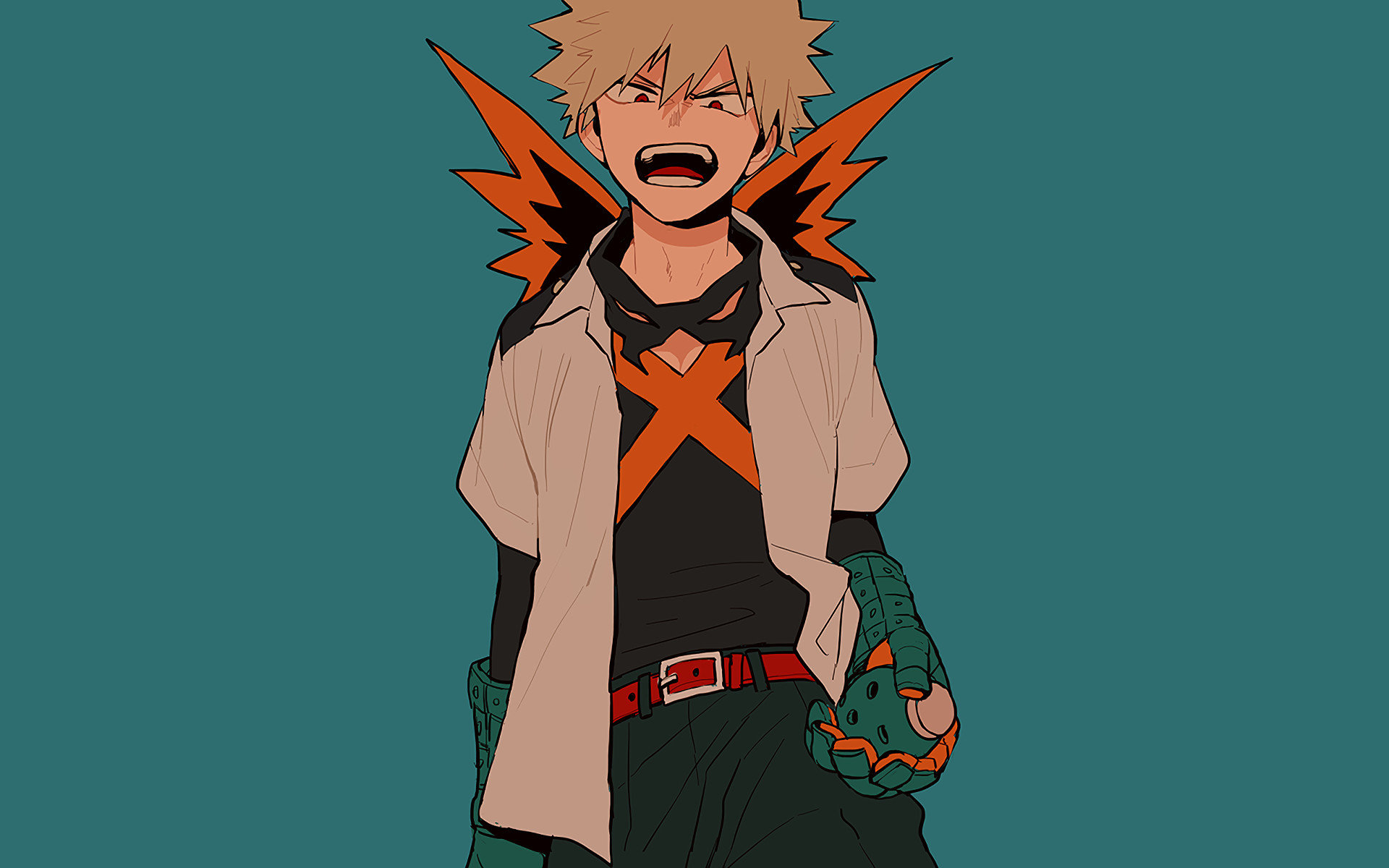 My Hero Academia Bakugou Wallpaper Posted By Ethan Cunningham