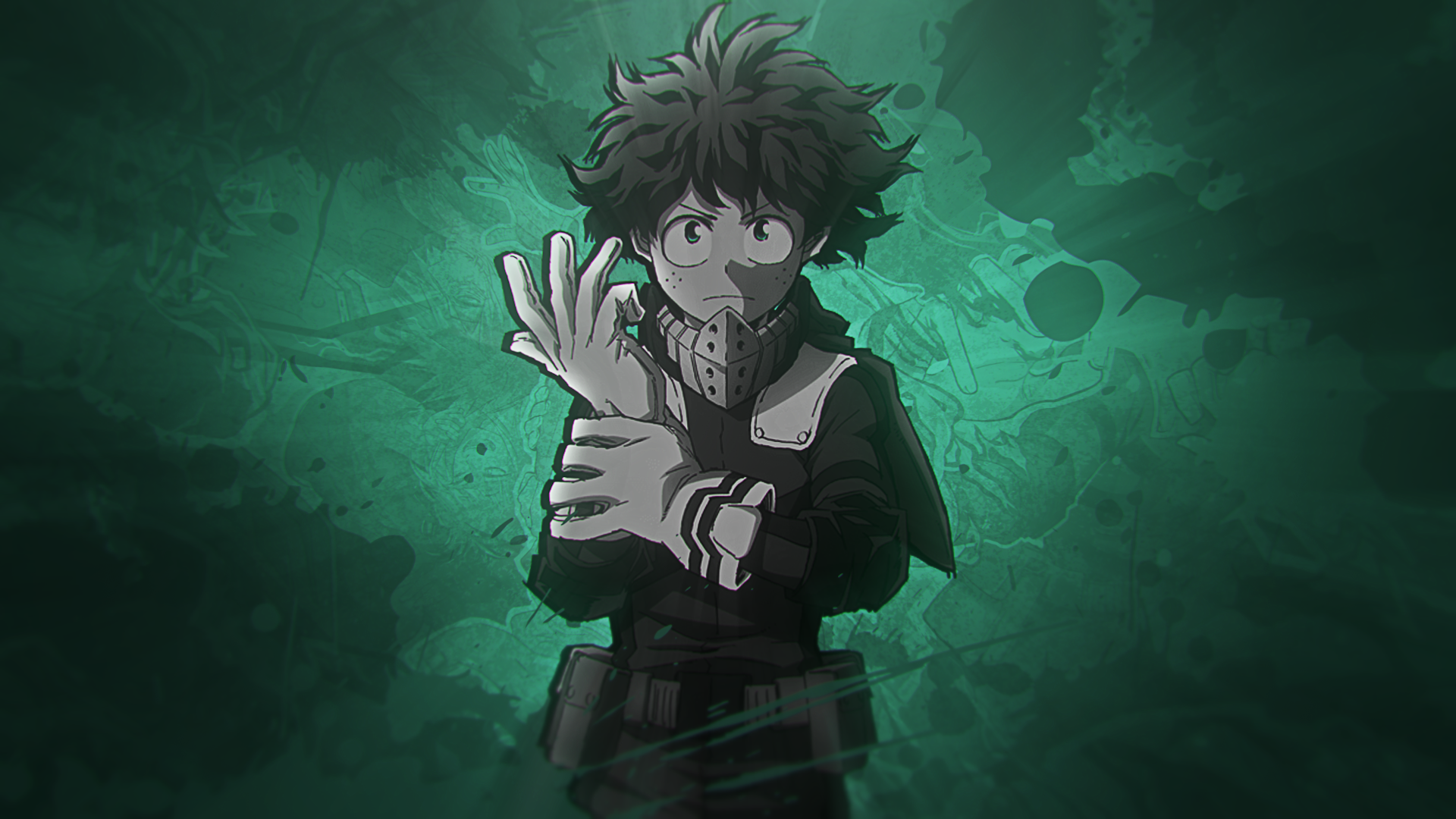 My Hero Academia Deku Wallpaper Posted By Samantha Mercado