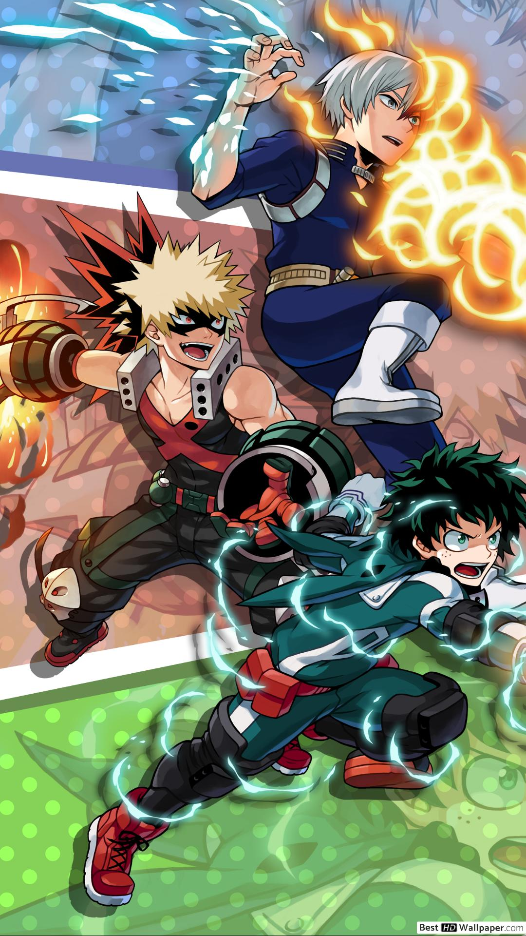 My Hero Academia Phone Wallpaper Hd Posted By Samantha Peltier
