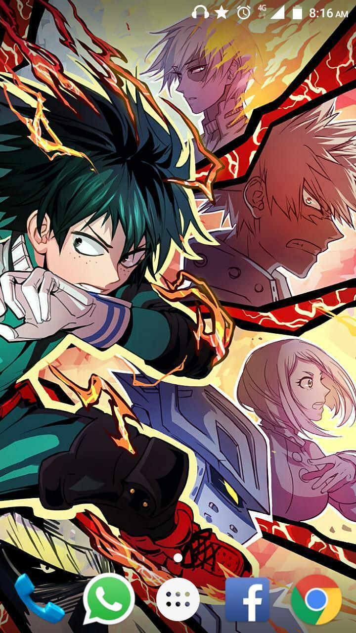 My Hero Academia Phone Wallpaper Hd Posted By Ethan Walker