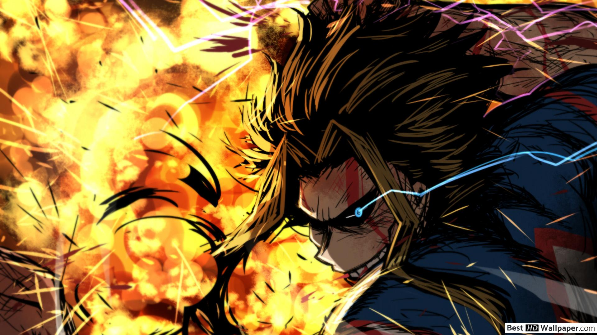 My Hero Academia Wallpaper 1920x1080 Posted By Christopher Mercado